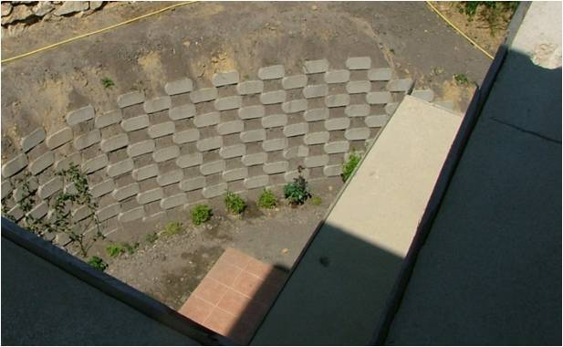 Csupasz betonfelület