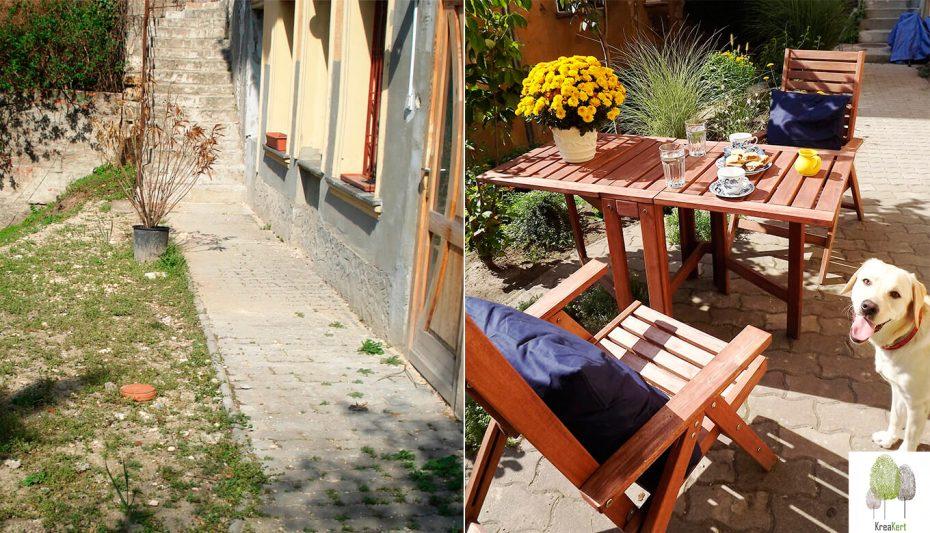Budapest Várnegyed, Pihenőterasz, előtte-utána