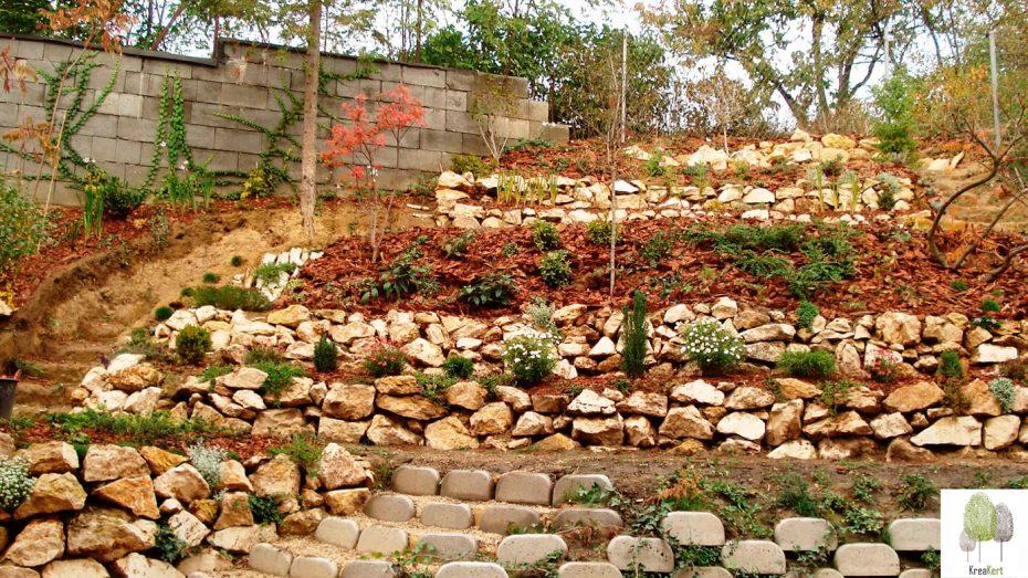A kert őszi képe